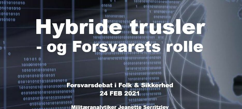 Webinar: FORSVARSDEBAT